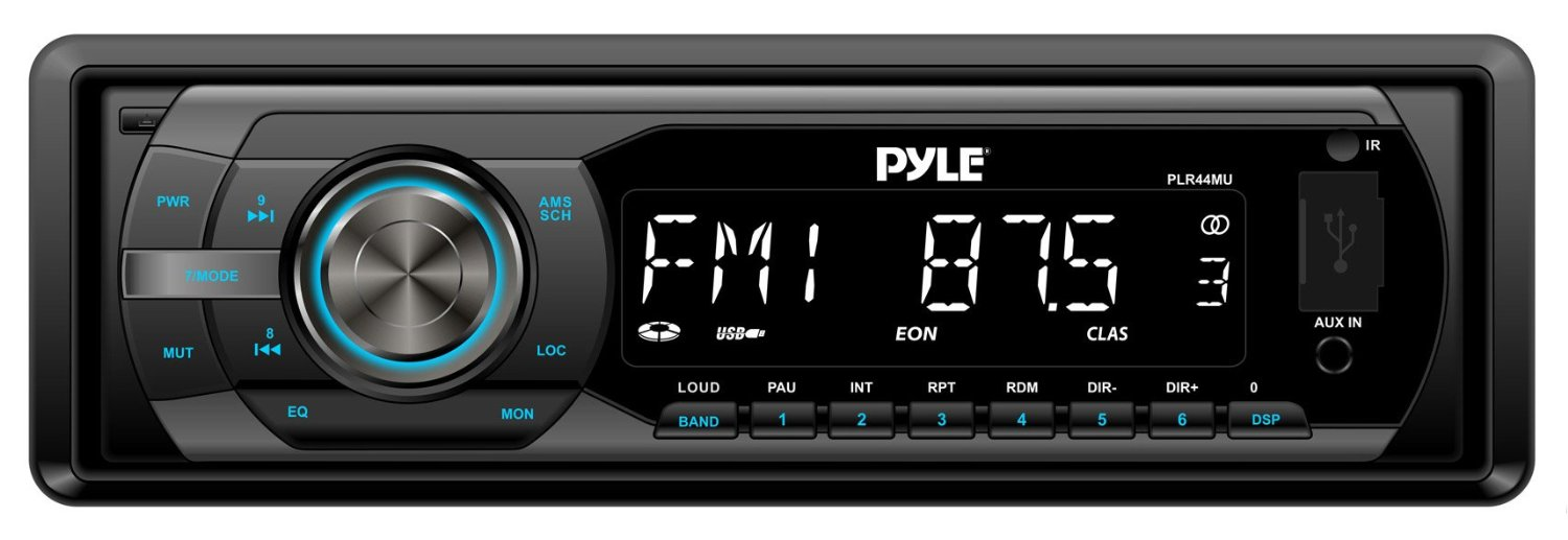 Car radio with aux best buy 12